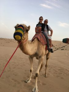 Camel RIde with my Amore
